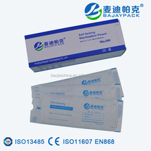 Self Sealing Sterilization Pouch for Dental Material