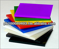 Cast Acrylic Sheet 100% Virgin Grade raw material