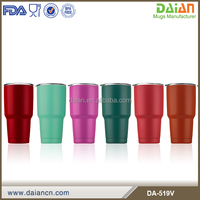 Hot sell 30&20 oz tumbler with portable handle
