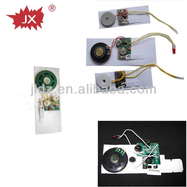 Greeting card voice recorder module,music chip for greeting card
