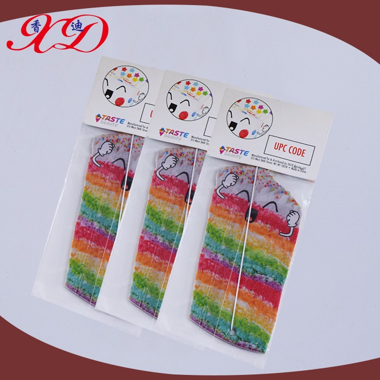 Promotion High-quality Cotton Hanging Paper Car Air Freshener