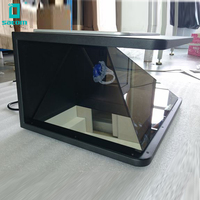 19Inch 22Inch 32 Inch 42 Inch 270 Degree Countertop Android 3D Holographic Display Box& 3D Pyramid Holographic Projector