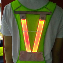 2017 hot selling products running light up vest new products looking for distributor