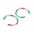 Fashion body piercing jewelry women stainless steel nose ring 0.8mm