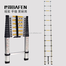 Aluminum Portable Telescoping Extension Collapsible Ladder 3.8M 12.5FT 12-Step 330lbs