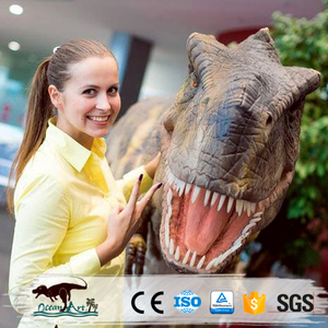 OAJ8081 Customized Animotronic Realistic Dino Costumes for Adults