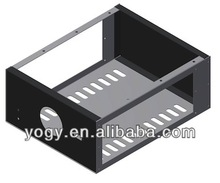 Precision Sheet Metal Laser Cutting Open Computer Case For Sale