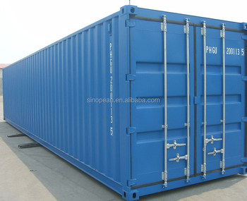 40ft ISO steel shipping containers