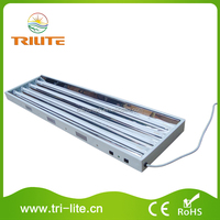 HO 24W 4 Tubes T5 Hanging Fluorescent Lighting Fixture
