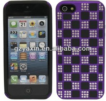 new arrival diamond cell phone cover for iphone5,korea cell phone cover for iphone