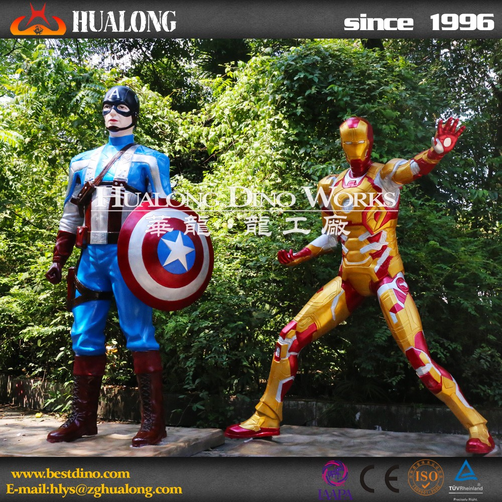 Playground Artificial Simulation Cartoon Human Model for Promotion