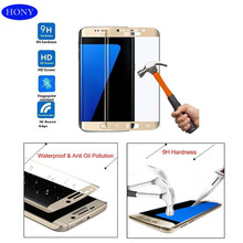 Anti-fingerprint Tempered glass screen protector for samsung galaxy s7