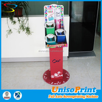 China factory sales cost-saving makeup mac cosmetic display stand