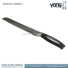 "8"" stainless steel electric kitchen bread knife"
