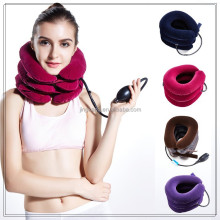 Comforter Portable Blow Up Shoulder Pain Air Cervical Collar Device / Inflatable Cervical Neck Traction Support