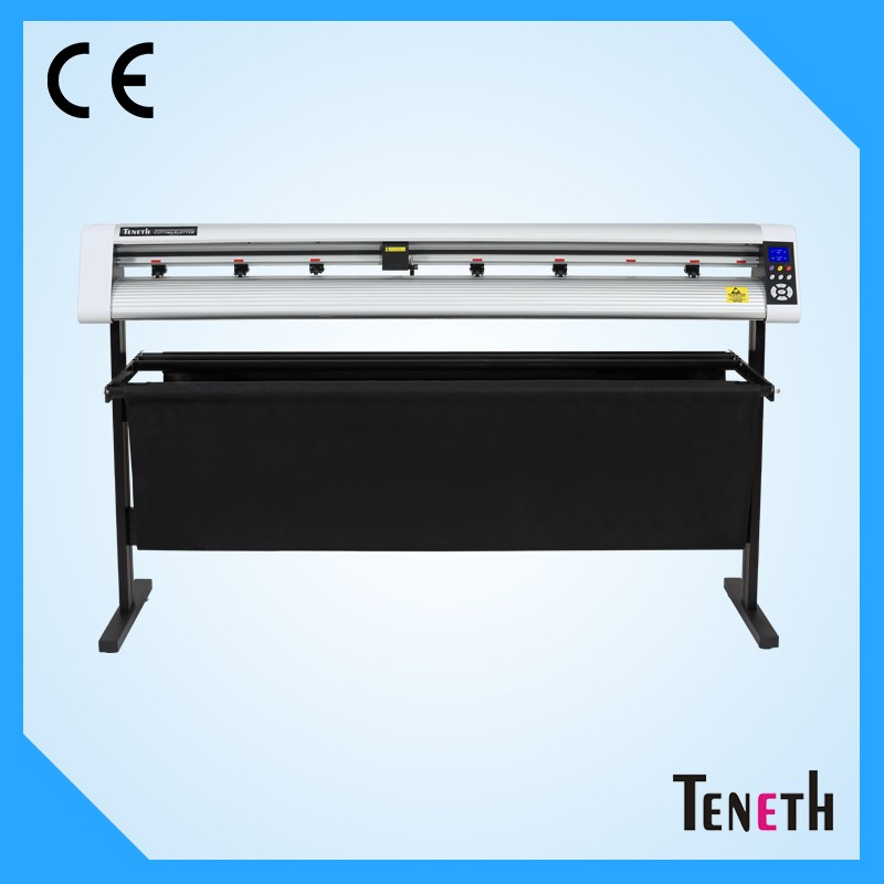 Teneth kuco t59l self adhensive vinyl cloth paper pattern sticker contour cutting plotter