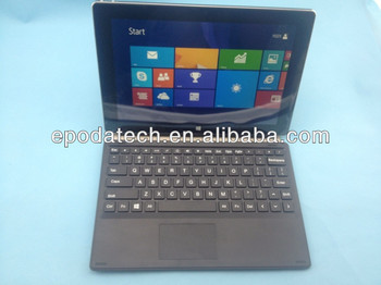 10.1 inch Intel Baytrail-T(Quad-core) windows8 tablet pc 1280x800 IPS Screen