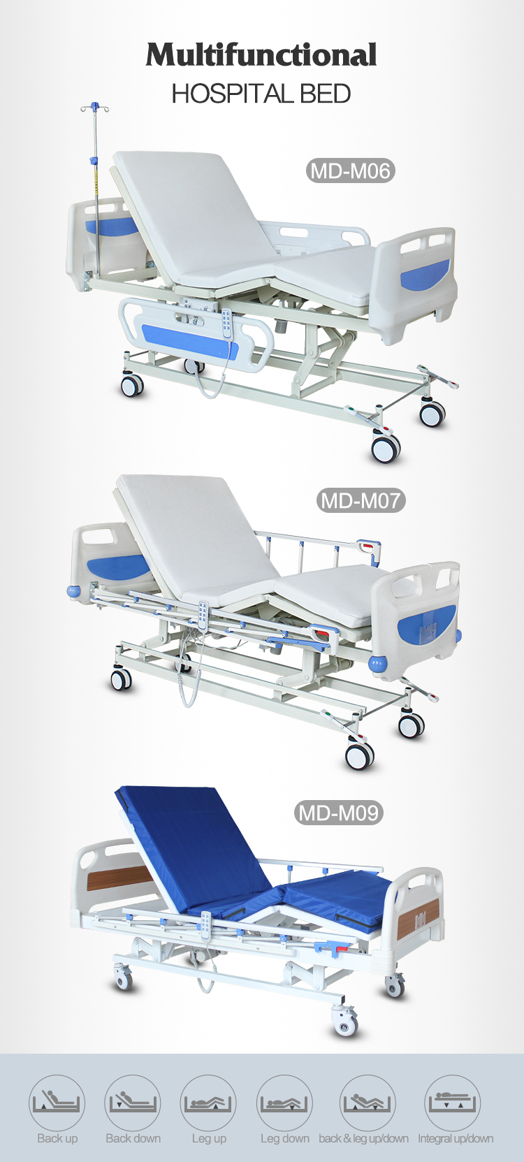 3 functions electric motorized hospital beds for sale Malaysia HK Vietnam_01.jpg
