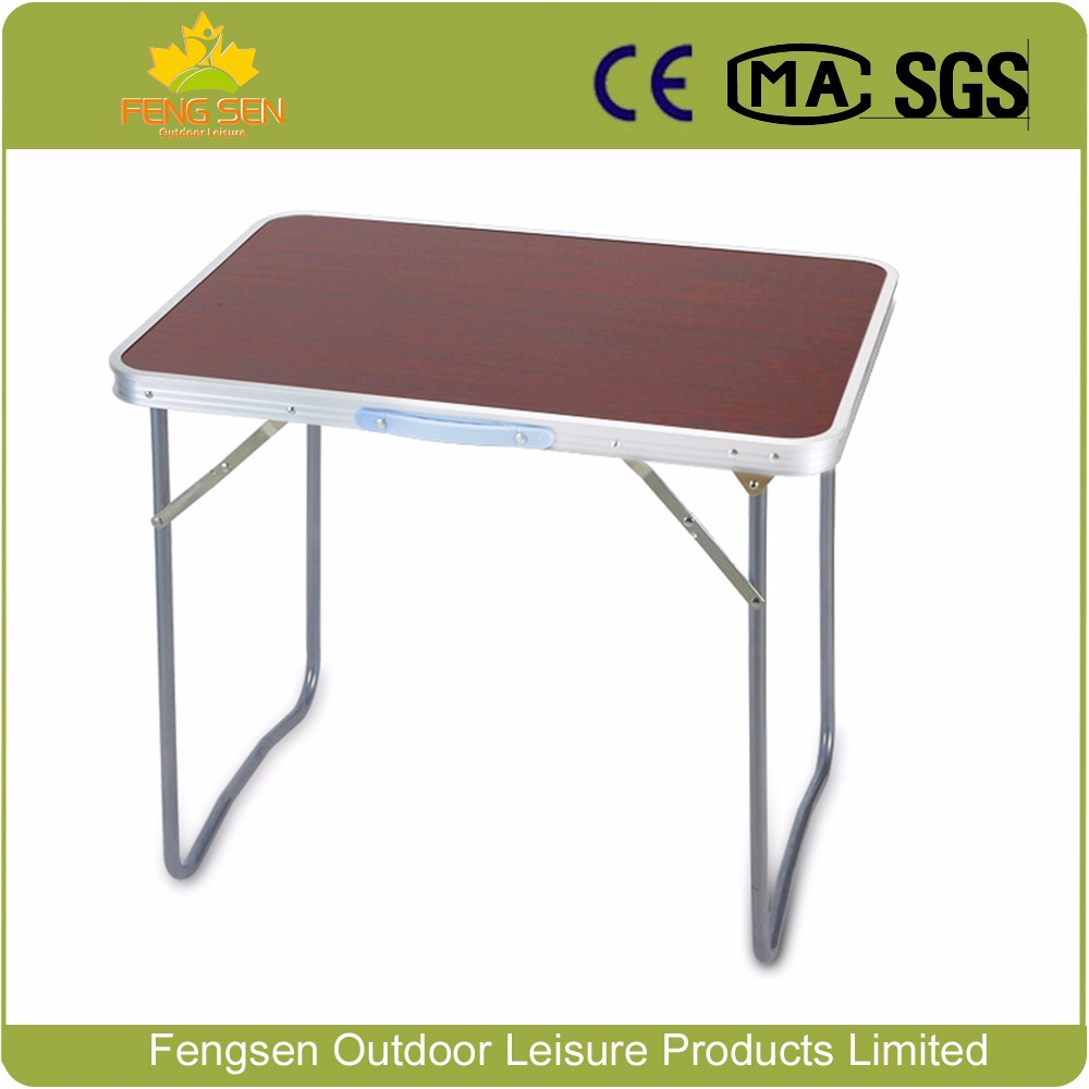 Portable Folding Study Table MDF Aluminum Folding Table And Chair For  Outdoor Use ...