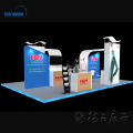 Fabric display stand exhibition custom exhibit displays