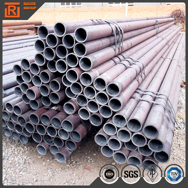 API natural gas pipe astm a53 steamless steel pipe thick wall high pressure boiler tube