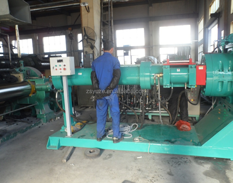 High Quality rubber band making machine cold feed rubber extruder tire inner tube extrusion machine