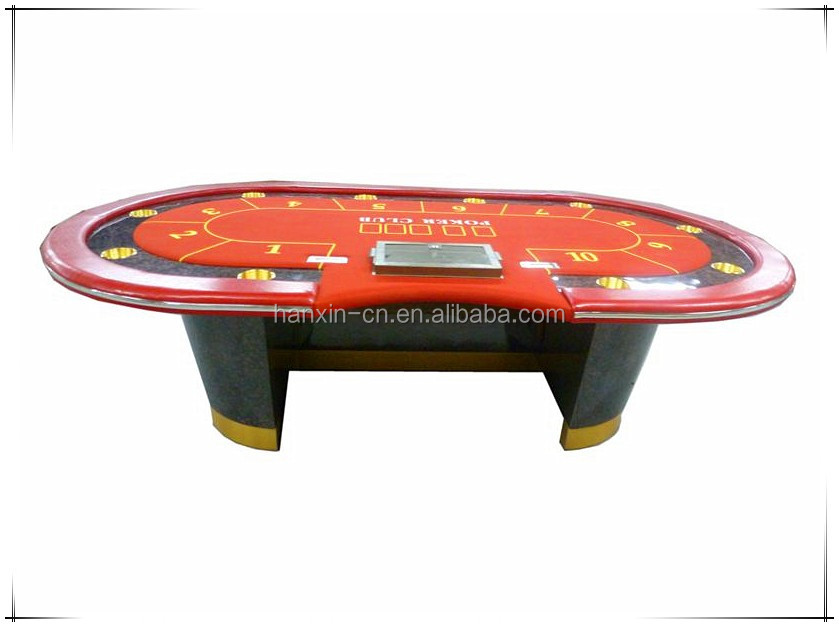 2016 hotsale luxury texas holdem poker table buy 10 for Poker table 6 ou 9