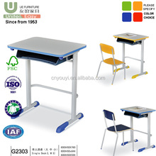High quality steel study desk, student study chairs and desk