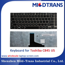Alibaba Gold US layout laptop keyboard for Toshiba C800 C800D C805 C805D C840 C840D C845 C845D laptop keyboard