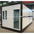 OEM steel pergola 4 bedroom house prefab folding container house
