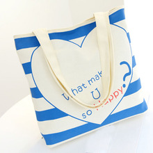 new white sublimation polyester tote bags, Sublimated polyester twill open tote bag with black poly webbing handles