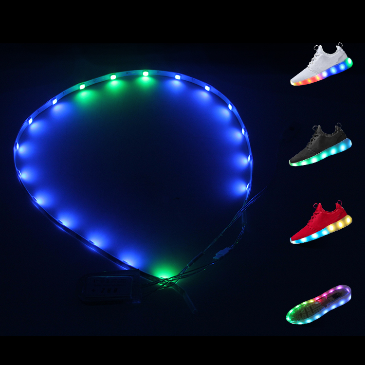 New design RGBW led strip lights,waterproof led flashing lights,led flexible strip lights for shoes