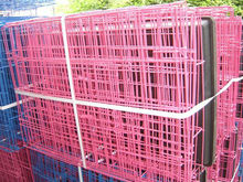 plastic caoted metal rat cage
