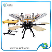 High precision rotary silk screen printing machine
