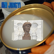 China supplier liquid silicon rubber for cement sculpture mold