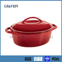 Multi Color die enameled Cast Iron Cookware