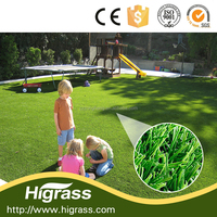 Commecial landscaping Artificial turf Synthetic grass mat