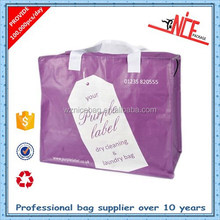 Wenzhou bsci factory supplier cheap pp woven laundry packing bag