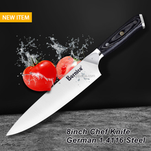 Professional Chef's Knife 8 Inch German High Carbon Stainless Steel Kitchen Knives