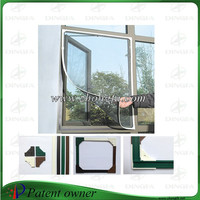 Magnetic mesh curtain /window screen(Keep away fly,mosquito and small insects