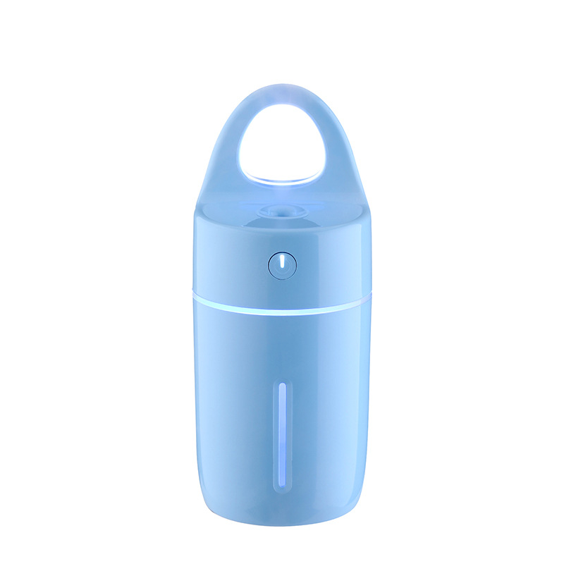 Aromatherapy diffuser portable ultrasonic aroma humidifier with 7 color
