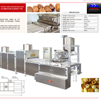 hard candy, Toffee casting production line ,confectionery machinery
