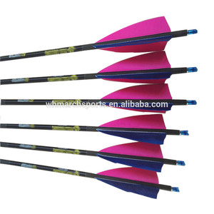 China factory supplied top quality carbon fiber arrows for compound bow