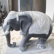 Gaint Marble Carving marble elephant buddha statues