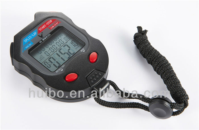 Professional precision 60 memory stopwatch