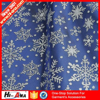 hi-ana fabric3 Familiar in oem odm factory new style polyester christmas taffeta fabrics