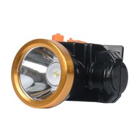 3W led lithium 18650 battery with aluminium head rechargeable headlight or headlamp