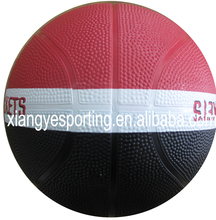 rubber mini size 1 two colors basketball