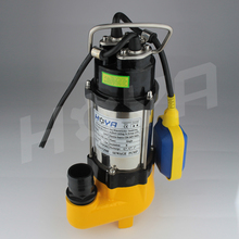 V250F 250W stainless steel electric submersible sewage water pumps