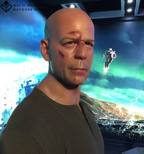 Action Figure of Celebrity Bruce Willis Silicone Wax Figure